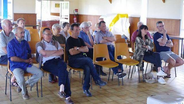 Les élus ont rencontré les habitants de Sainte-Marine