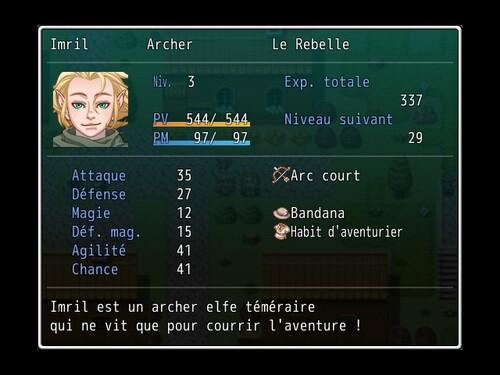 Quelques Personnages de RPG