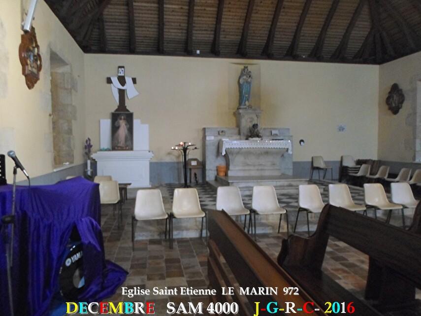 Eglise 2/2  Saint Etienne du MARIN   972               D    05/03/2018