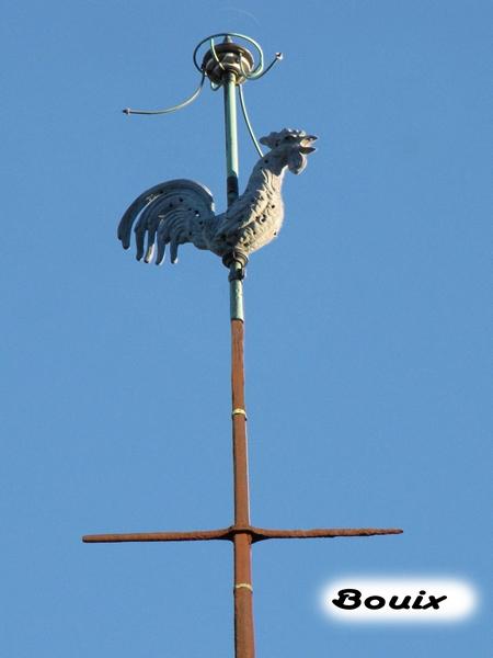 Coqs de clochers du canton de Laignes