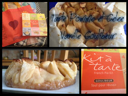 Partenariat Goulibeur et tarte au pommes revisitée