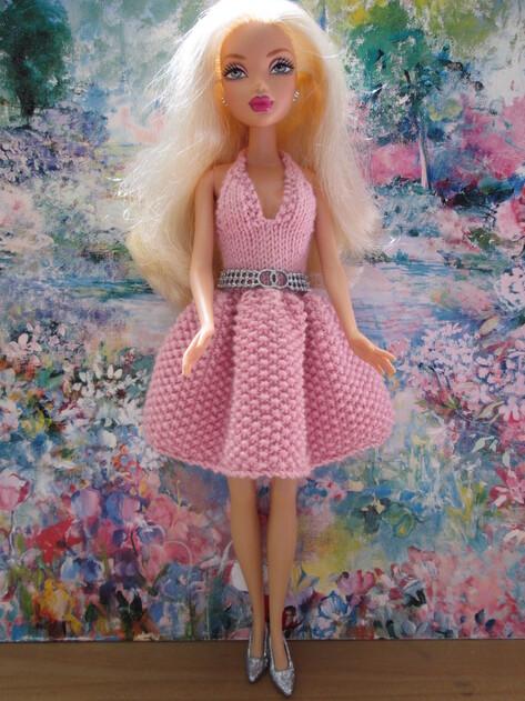 Robe romantique pour barbie