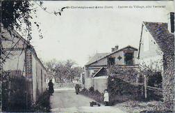 LES REMPARTS DE SAINT-CHRISTOPHE-S/AVRE (Eure)