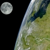 Terre Lune Mars