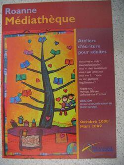 Flyer Roanne 2009 Poiré Gualino