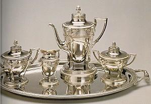 service à thé en argent (1909)