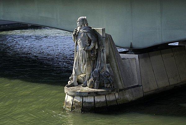 Zouave du Pont de l'Alma Paris