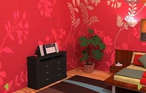 Pink bedroom escape