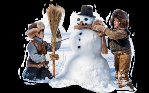 La première neige au Québec