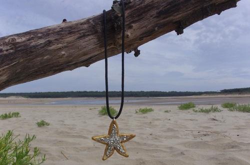 Collier étoile de mer