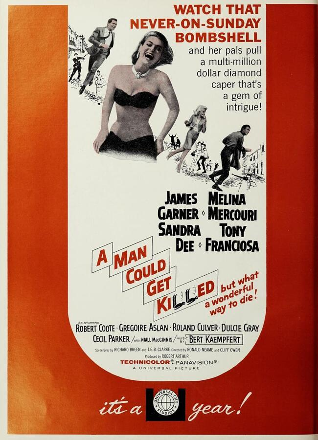 A MAN COULD GET KILLED BOX OFFICE USA 1966