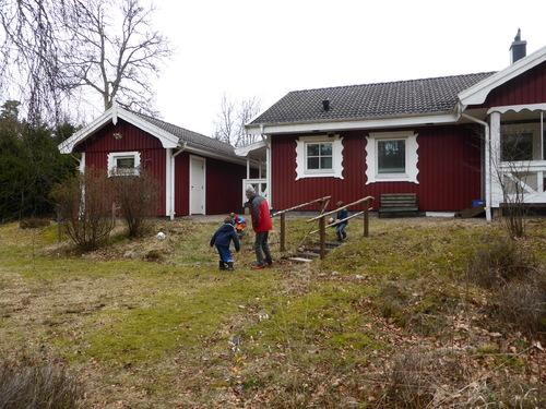 Vacances de Printemps en forêt Suédoise
