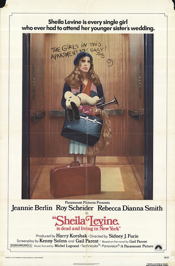 SHEILA LEVINE IS DEAD  BOX OFFICE USA 1975