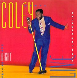 Daryl Coley - He's Right On Time . Live From Los Angeles - Complete CD