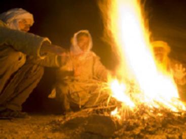 Soirée autour du feu et une tasse de thé