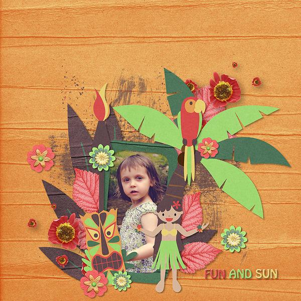 My Dream Holiday by Scrap de Yas