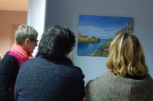 "Vernissage de l'exposition ""Le temps d'un week-end"""
