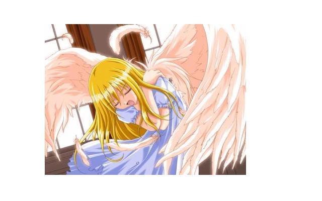 samia en ange