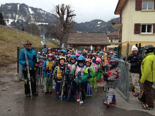 Dernière séance de ski alpin