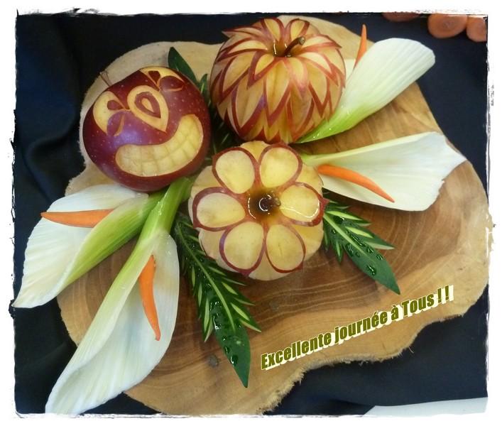 """Reine de l'automne """"la pomme"""" ..."""