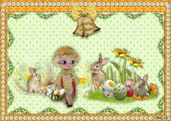 Joyeuses Pâques à tous mes visiteurs