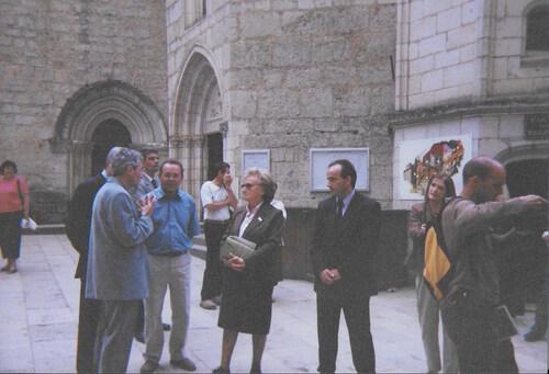 Visite de Mme Chirac à Rocamadour ( juillet 2002)