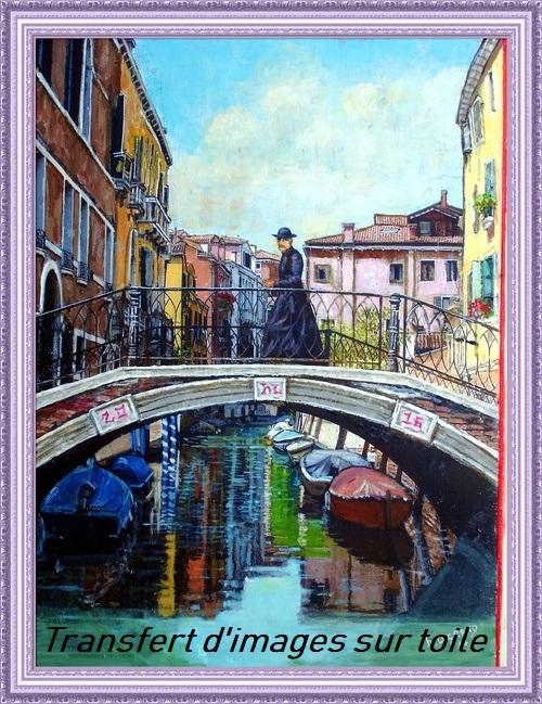 Dessin et peinture - vidéo 2922 : Comment transférer une image sur une toile ?
