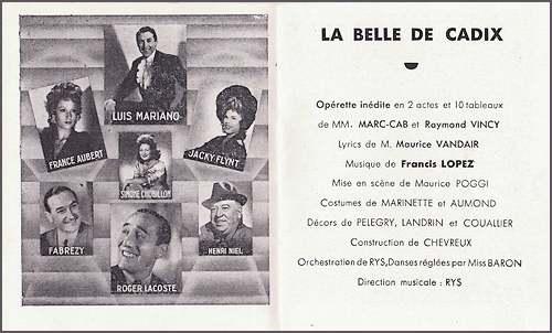 12 Août 1914 : naissance de Luis Mariano