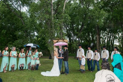 Mariage dans le Montana