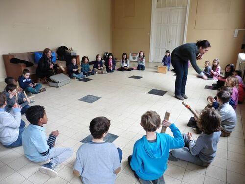 De la musique au Petit Collège