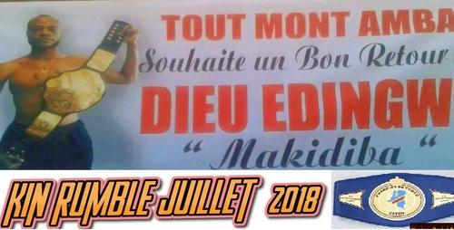 KIN RUMBLE 2018 , Juillet 2018