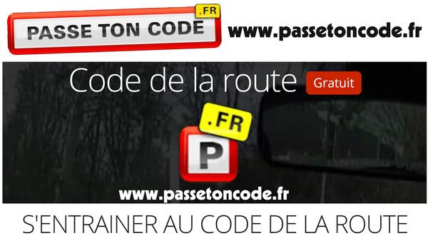 Passe ton Code - Code de la Route gratuit - www.passetoncode.fr