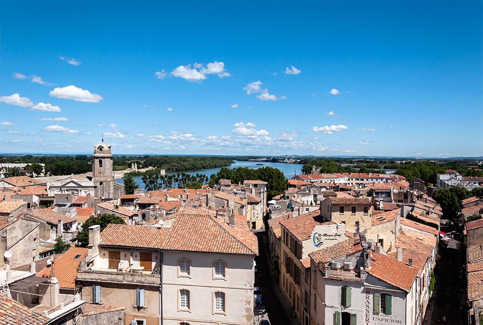Vues sur Arles du dessus des arènes