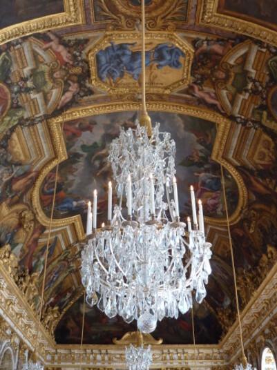 Château Plafond galerie des glaces