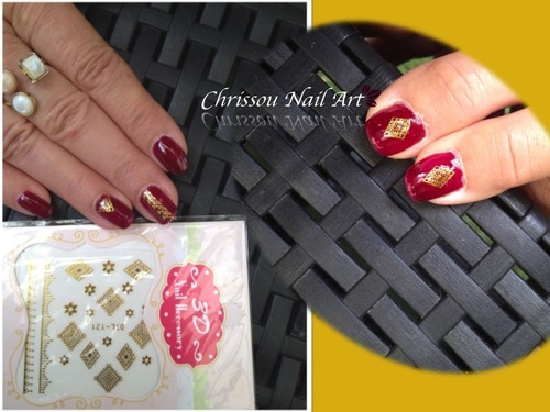 Nail Art oriental