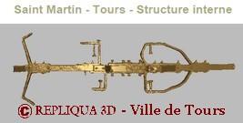 Scan 3D de la structure interne de la statue de Saint Martin de Tours - Repliqua3D, sculpture, numérisation 3D, modélisation, copie et archivage numérique