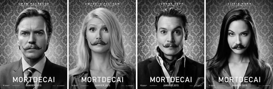 Johnny Depp est MORTDECAI : le 21 janvier 2015 au cinéma ! Découvrez la bande-annonce.