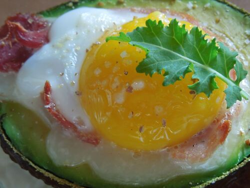 Avocats farcis : jambon / oeuf
