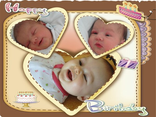 Joyeux anniversaire Zoé, ma petite princesse