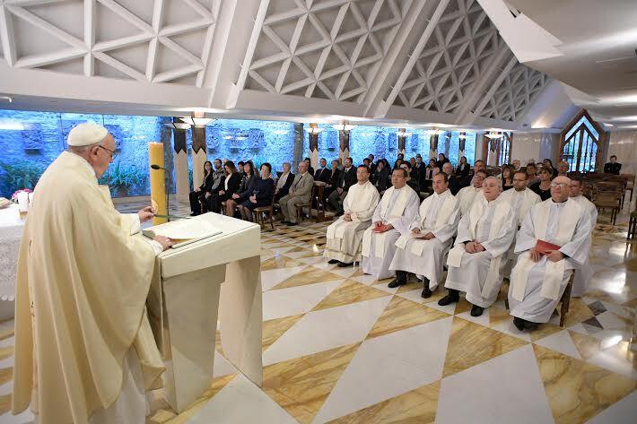 Sainte-Marthe 8 mai 2017 © L'Osservatore Romano