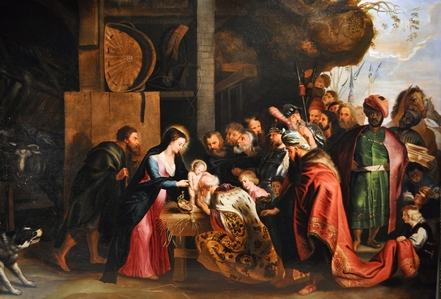 Adoration des mages, Rubens, 1618