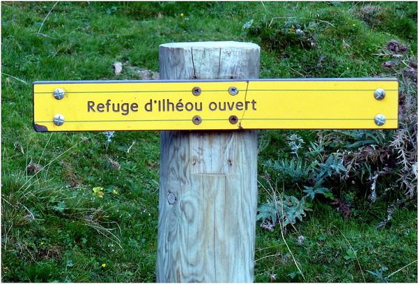 Souvenirs : Septembre 2014 : Hautes Pyrénées : refuge et lac d'Ilhéou