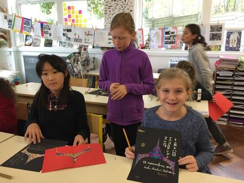 Visite de l'école japonaise d'Acton