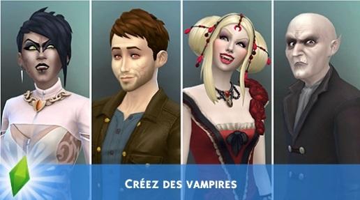 Pack de jeu : Vampires
