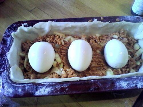 Bataille Food #22 : Pâté de pâques végétarien
