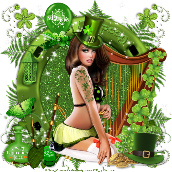 "Tutoriel ""Happy St Patrick's Day"" de Ming Yue"