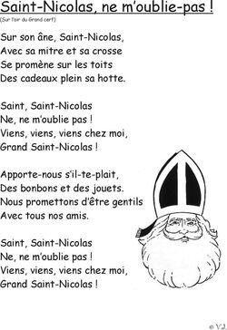 La Saint Nicolas, activités créatives et Cie