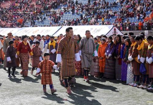 Fête Nationale au Bhoutan