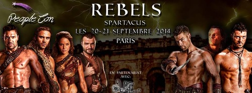 Rebels Spartacus - 20 & 21 Septembre 2014 -  France