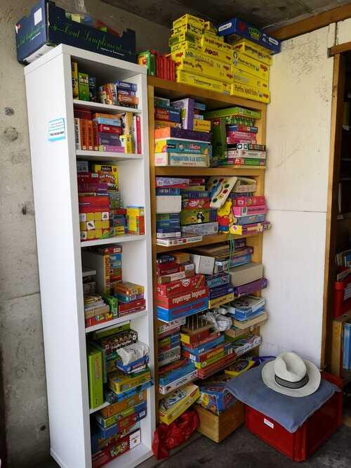 Jeux pédagogiques, un stock qui évolue pour chaque vente